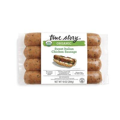 True Story Foods Organic Sweet Italian Chicken Sausage