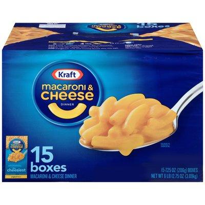 Kraft Dinners Original Mac and Cheese, 18 Pack