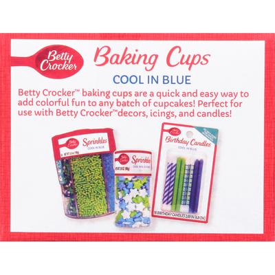 Betty Crocker Baking Cups, Cool in Blue