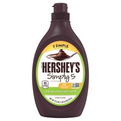 Hershey's Syrup, Simply 5, Genuine Chocolate Flavor