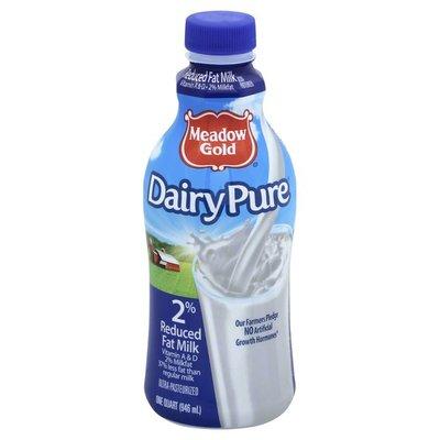 Meadow Gold Milk, 2% Reduced Fat, Bottle