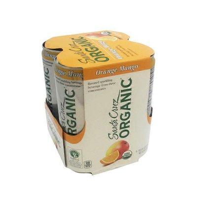 Santa Cruz Organic Beverage, Orange Mango