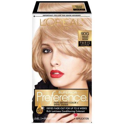 Superior Preference Delicate Golden Blonde 9DG Hair Color