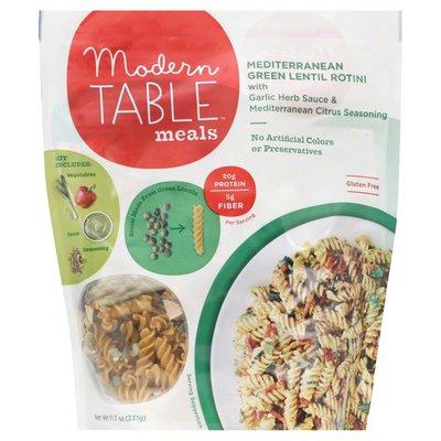 Modern Table Green Lentil Rotini, Mediterranean