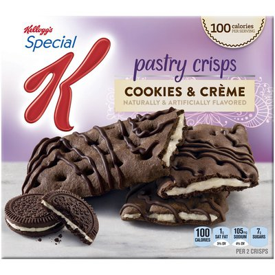 Kellogg's Special K Cookies & Creme Pastry Crisps