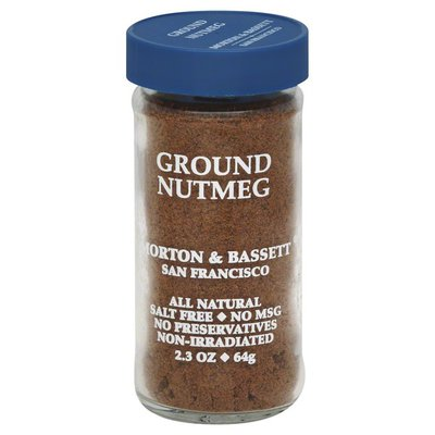 Morton & Bassett Spices Nutmeg, Ground