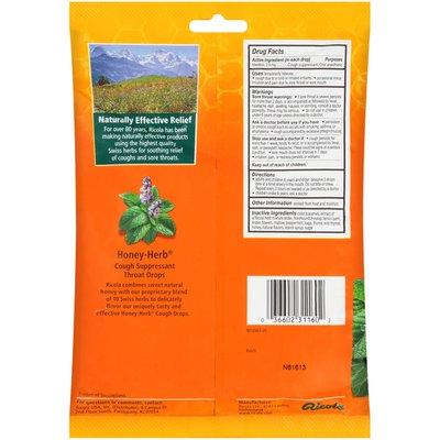 Ricola Honey-Herb Cough Suppressant Throat Drops