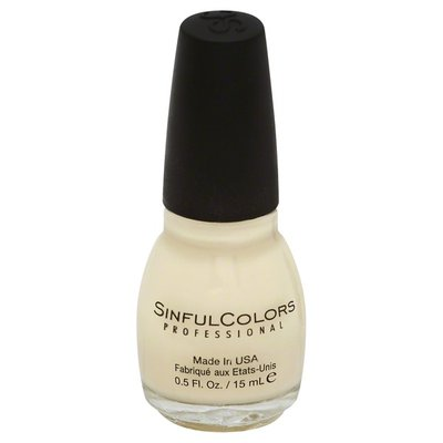 Sinful Colors Nail Colour, Beaches and Cream 1423
