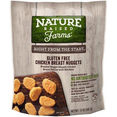 NatureRaised Farms NatureRaised Farms® Gluten-Free Breaded Chicken Breast Nuggets, 12 oz. (Frozen)