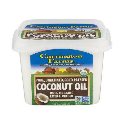 Carrington Farms Coconut Oil, Virgin, Unrefined, Organic