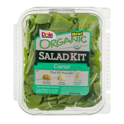 Dole Organic Salad Kit Caesar