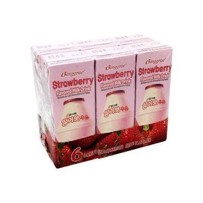 Binggrae Strawberry Flavored Milk Drink