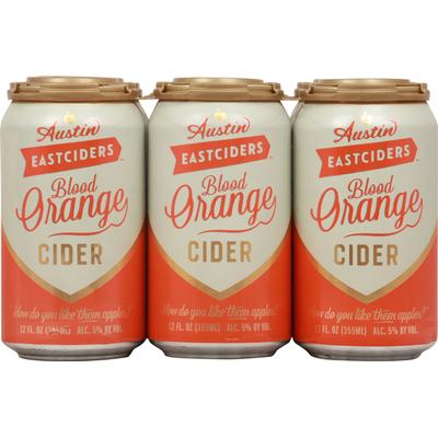Austin East Ciders Beer, Cider, Blood Orange