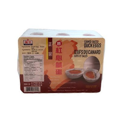 Grand Maple Cooked Salted Duck Egg