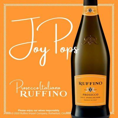 Ruffino Prosecco DOC Italian White Sparkling Wine