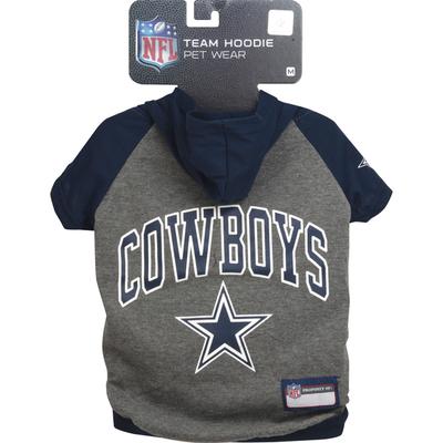 Pets First Pet Wear, Team Hoodie, Dallas Cowboys, Medium