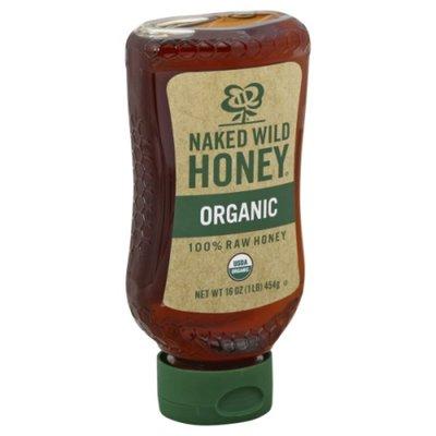 Naked Wild Honey Honey, 100% Raw, Organic