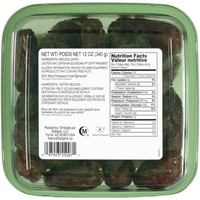 Bard Valley Natural Delights Pitted Fresh Medjool Dates