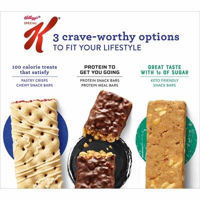 Kellogg's Special K Pastry Crisps, Breakfast Bars, 100 Calorie Snacks, Strawberry