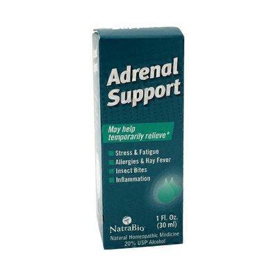 NatraBio Adrenal Support Drops Homeopathic Medicine