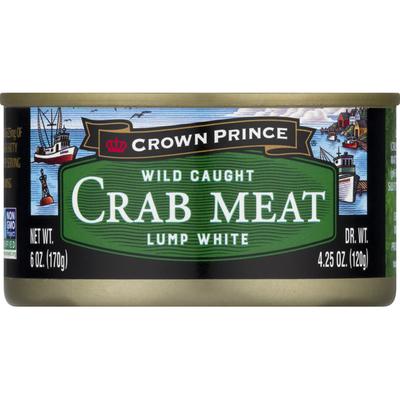 Crown Prince Crab Meat, Lump White