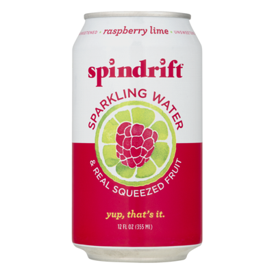 Spindrift Sparkling Water Raspberry Lime