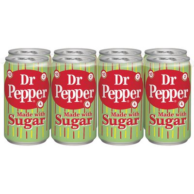 Dr Pepper Made with Sugar Soda