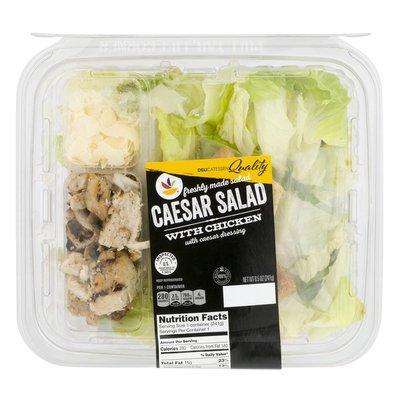SB Caesar Salad with Chicken and Caesar Dressing