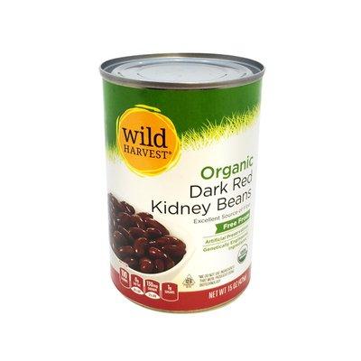 Wild Harvest Kidney Beans, Organic, Dark Red
