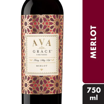 AVA Grace AVA Grace Vineyards Merlot Red Wine