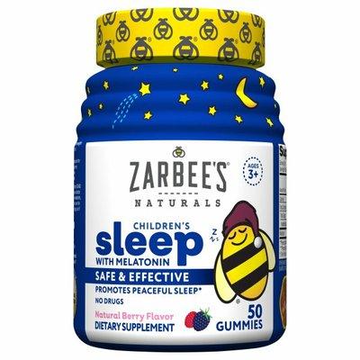 Zarbee's Naturals Children's Sleep with Melatonin, Natural Berry