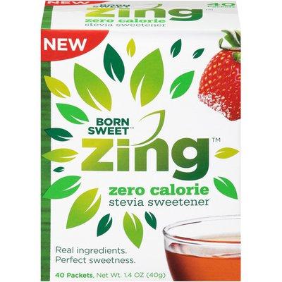 Zing Zero Calorie Stevia Sweetener Born Sweet