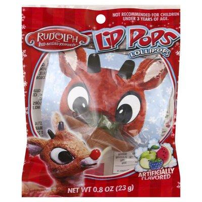 Lip Pops Lollipops, Rudolph The Red-Nosed Reindeer