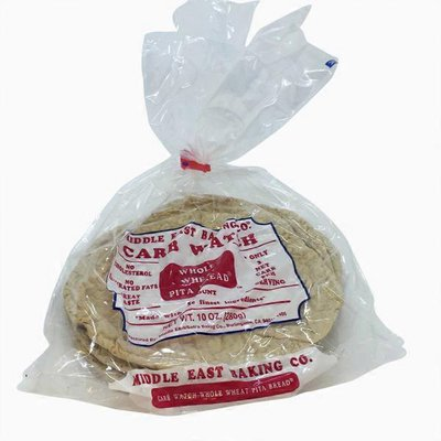 Middle East Baking Co. Carb Watch Whole Wheat Pita Bread