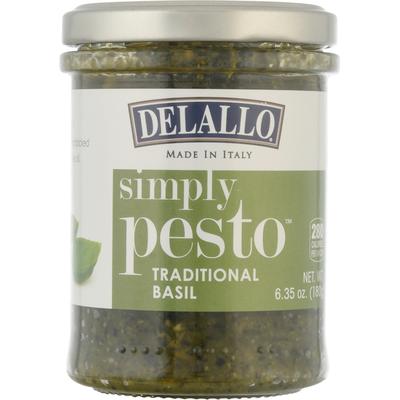 DeLallo Simply Pesto, Traditional Basil