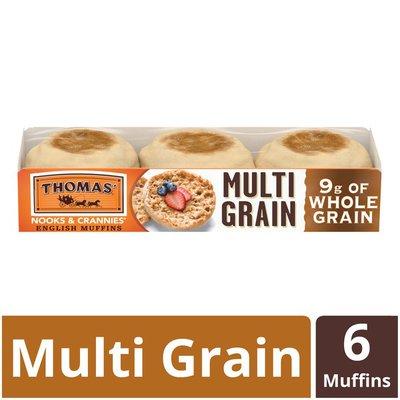 Thomas' English Muffins Whole Grain Multi Grain