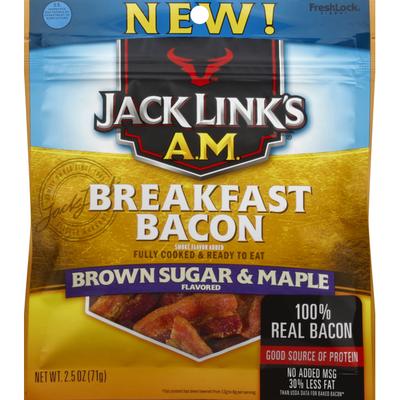Jack Link's Bacon, Breakfast, Brown Sugar & Maple Flavored
