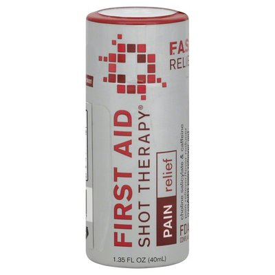 First Aid Shot Therapy Pain Reliever/Fever Reducer, Pain, Berry Flavor