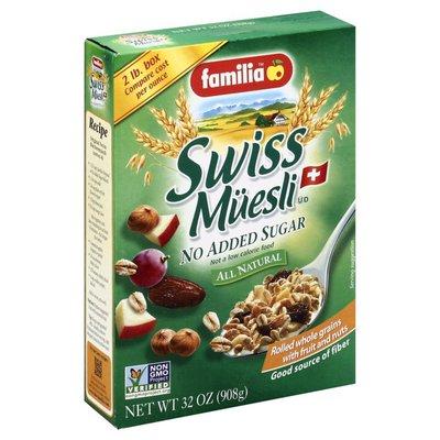 Mi Familia Muesli, Swiss