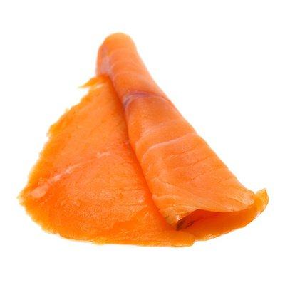 Foppen Salmon Slices, Smoked Norwegian, Flame Roasted