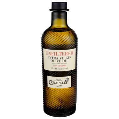 Carapelli Olive Oil, Extra Virgin, Unfiltered