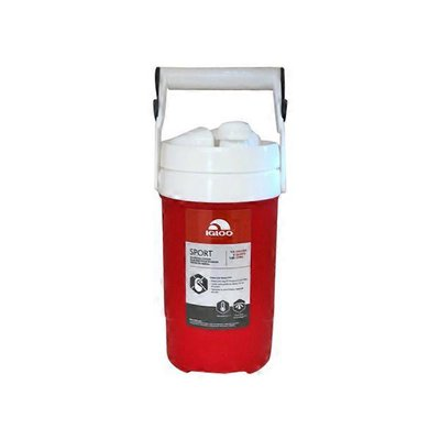 Igloo Red Sport Beverage Cooler with Hooks