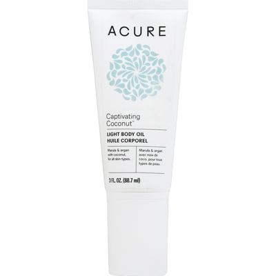ACURE Body Oil, Light, Captivating Coconut