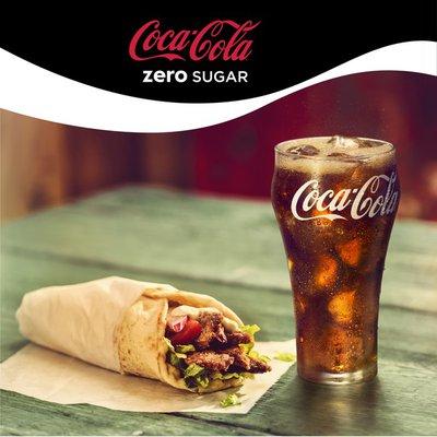 Coca Cola Zero Sugar Diet Soda Soft Drink