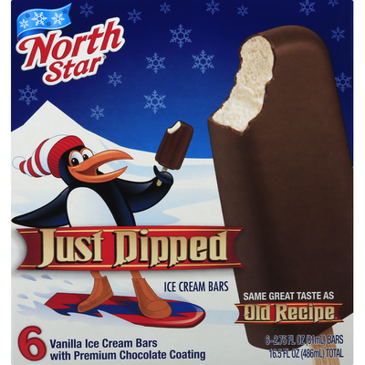 Northstar Ice Cream Bars, Just Dipped