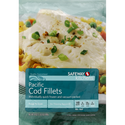 Safeway Select Pacific Cod Fillets