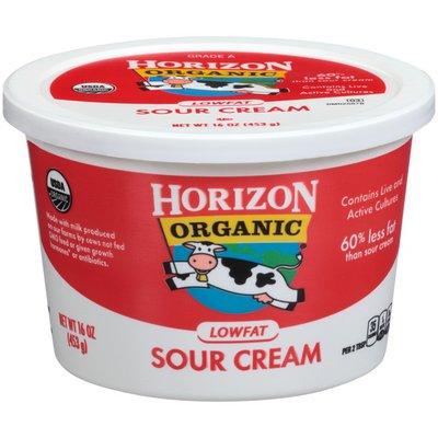 Horizon Organic Lowfat Sour Cream