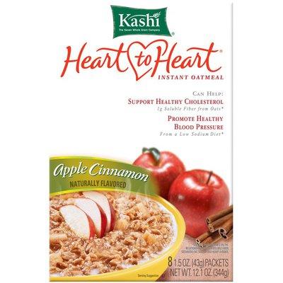 Kashi Heart to Heart Apple Cinnamon Instant Oatmeal