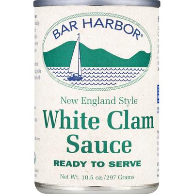 Bar Harbor White Clam Sauce, New England Style
