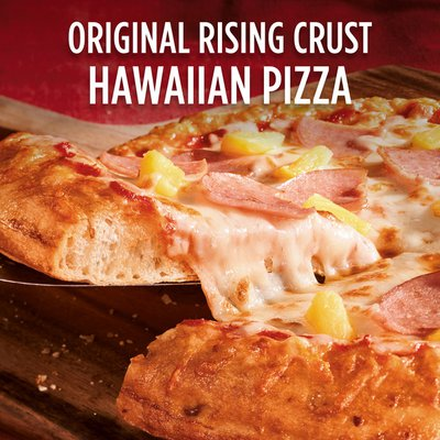 DiGiorno Hawaiian Style Frozen Pizza on a Rising Crust
